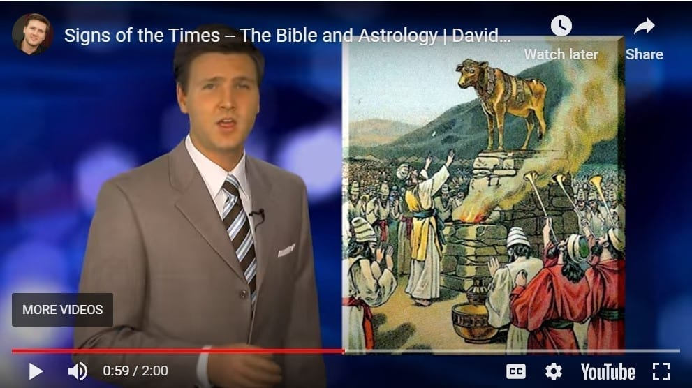 Signs of the Times, Bible and Astrology YouTube still