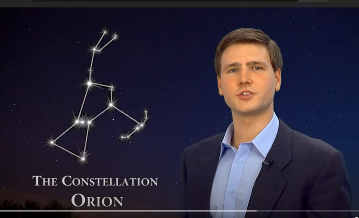 Orion YouTube still