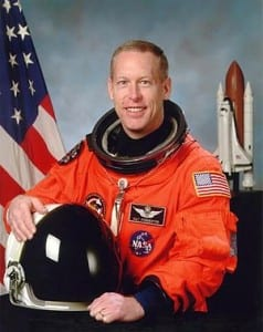 Astronaut Patrick G. Forrester