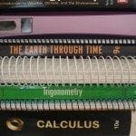 Textbook stack: Photo copyright Sara J. Bruegel, 2014