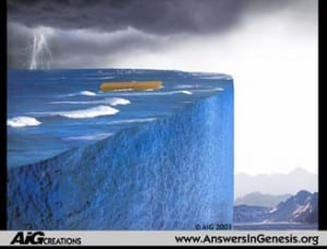 """""""Local Flood"""".  Copyright Answers in Genesis.  Used with permission (2012) from: www.answersingenesis.org"""