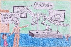 Cartoon drawn by Eliza Haley, 2013
