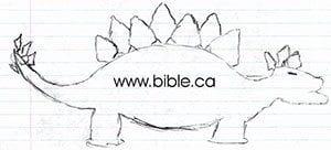 Aplogetics.org Stegasaurus Sketch