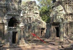 Ta Prohm Temple Cambodia ca. 1186 A.D.