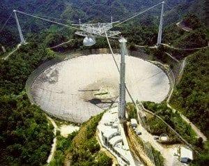 Arecibo Radio Telescope Peurto Rico