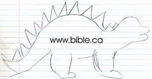 apologetics.org Stegasaurus Sketch 2