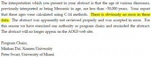 Creation Club AOGS Enlarged Letter to Hugh Miller