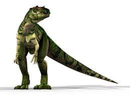 Creation Club Allosaurus depiction