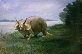 Creation Club Triceratops depiction