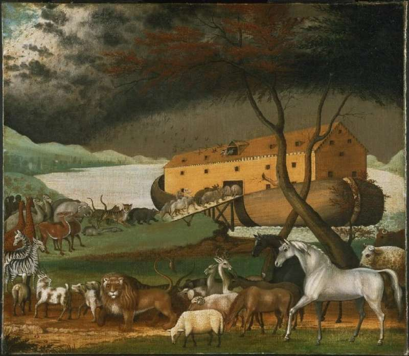 Painting of Noah's ark