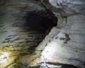 Gypsum Cave in New Mexico