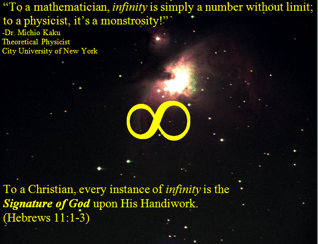 Infinity The Signature Of God Dr Jack L Burton The Creation