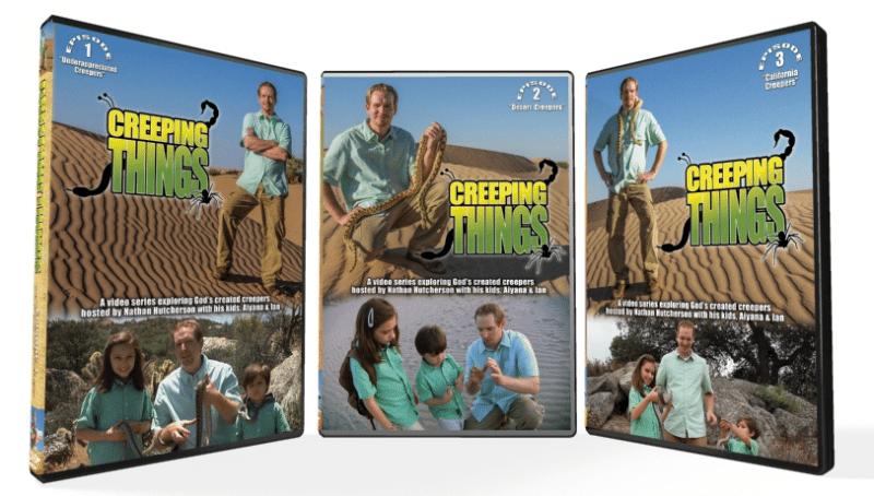 creeping things dvd series nathan hutcherson asm