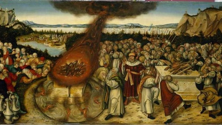 creation-club-cranach-lucas-elijah-and-priests-of-baal-painting