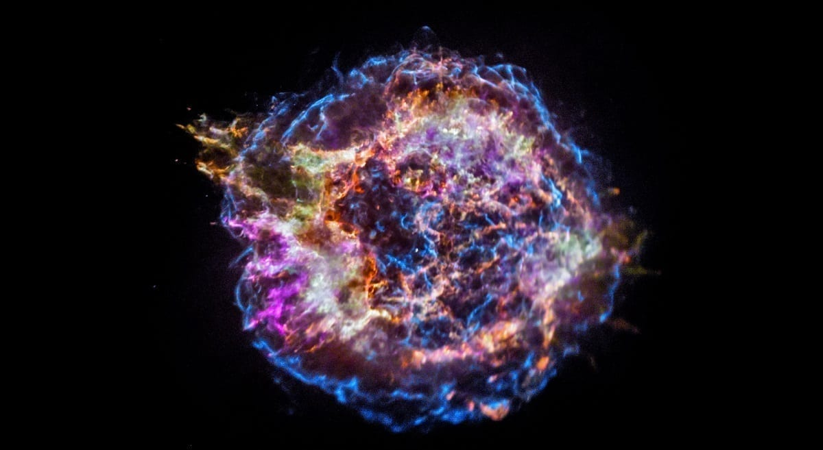 Supernova Remnant, photo credit NASA Chandra X-ray Observatory