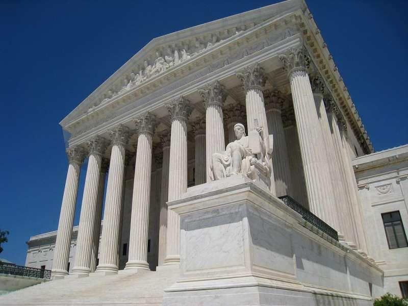 Facade of the Supreme Courthouse