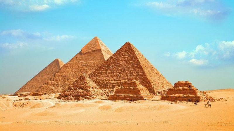 Great Pyramid and neighbors