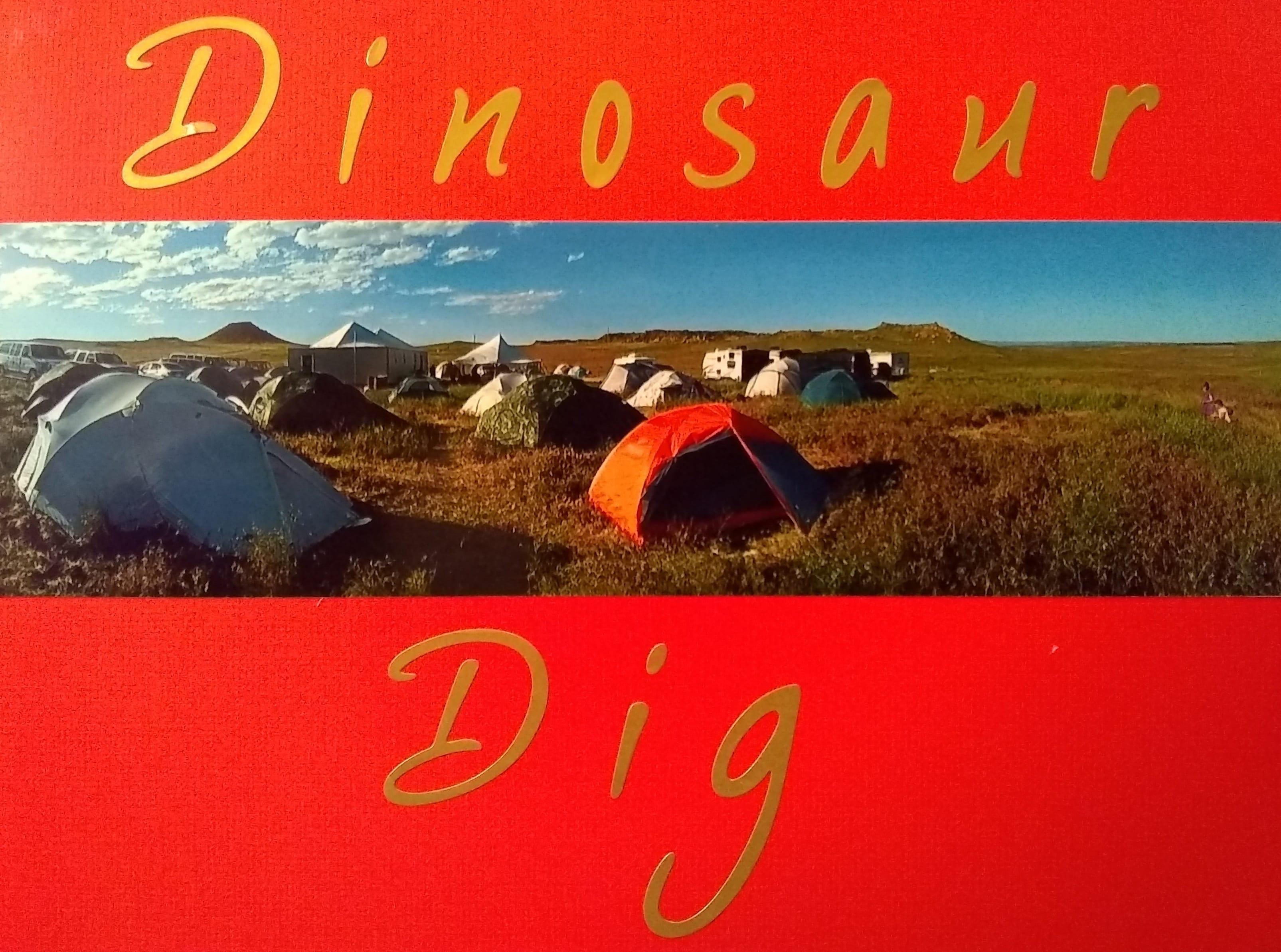 Dinosaur Scrapbook Cover