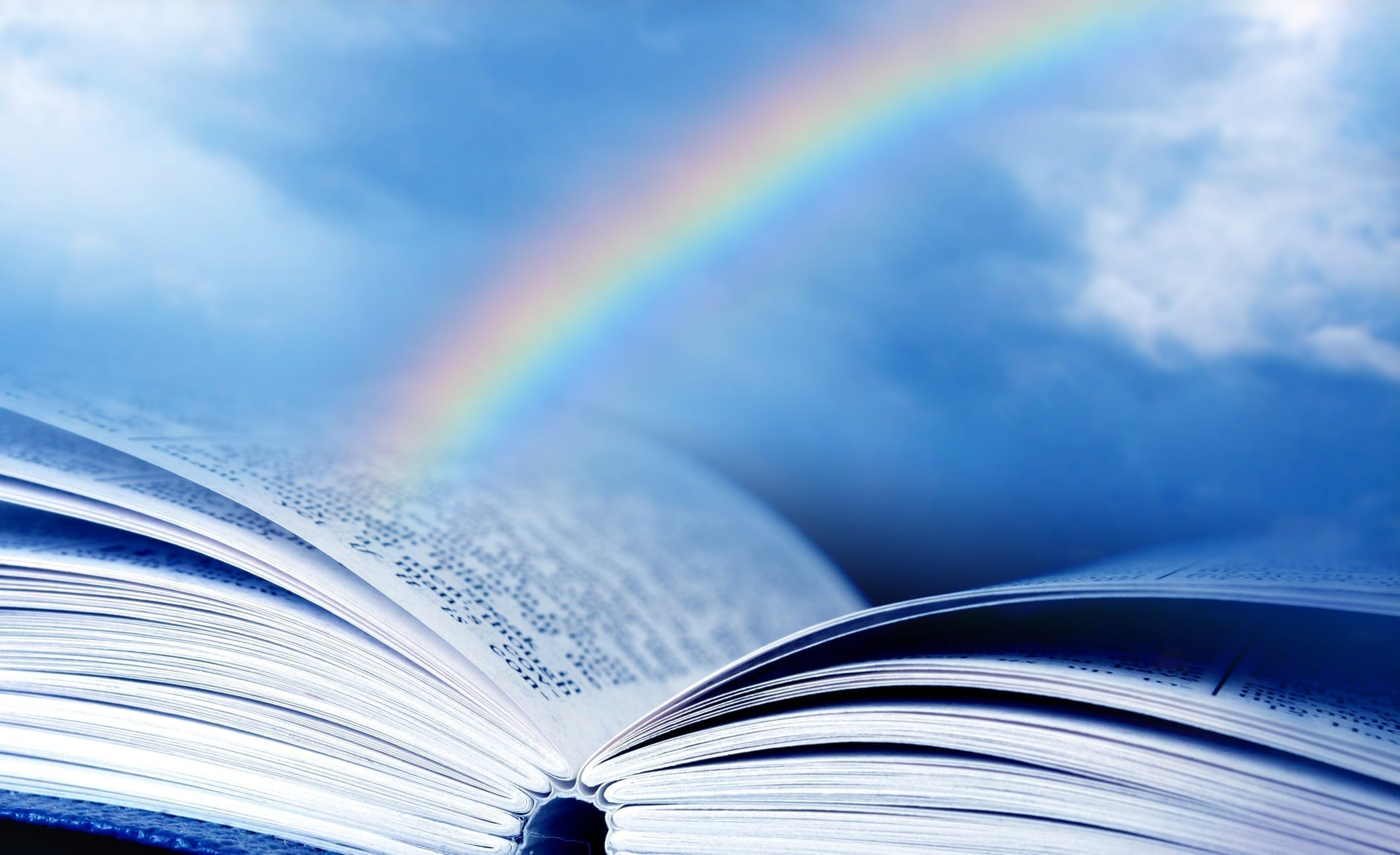 Rainbow about a Bible: ID 15028345 © Annie Su Yee Yek | Dreamstime.com