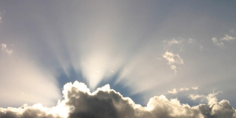 Sunbeams about clouds: ID 44872 © Winterberg | Dreamstime.com