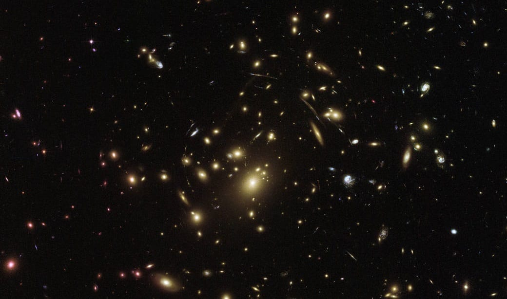 Deep Space Galaxies, photo credit: NASA