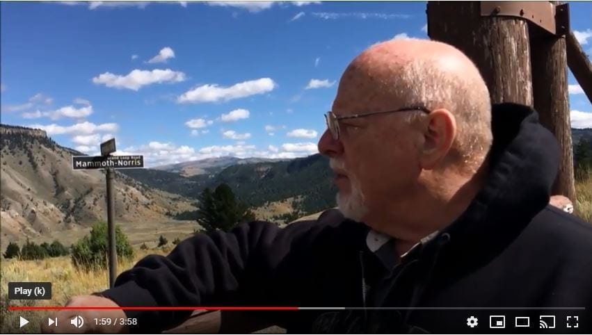 Pat Nurre at Yellowstone YouTube cover