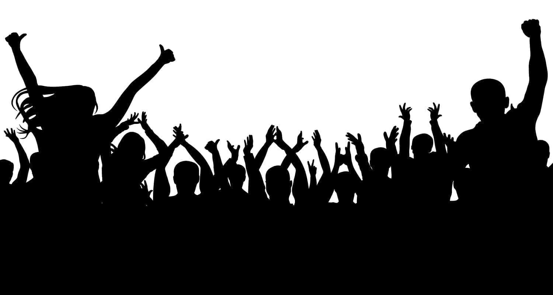 Silhouette of Fans, Worship: ID 111211570 © Siarhei Nosyreu | Dreamstime.com