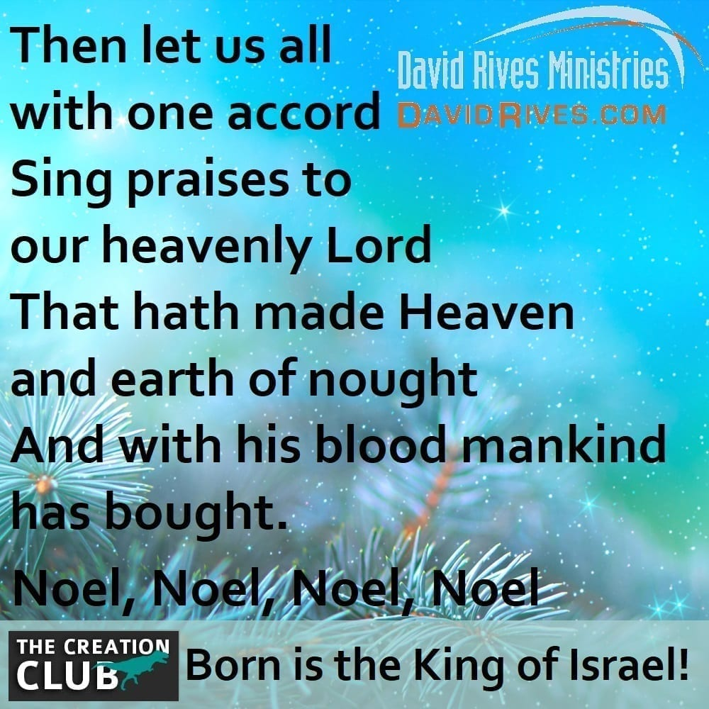 The First Noel final verse, image adapted from: © Kosssmosss | Dreamstime.com File ID: 130806340