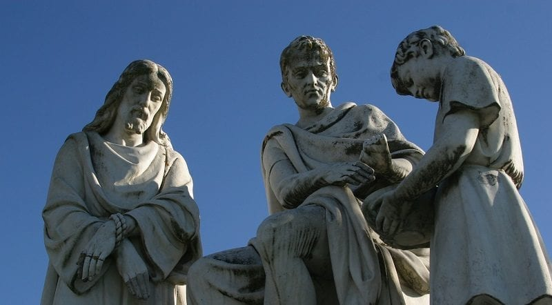Statues of Pontius Pilate with Jesus: ID 85342148 © Zatletic | Dreamstime.com