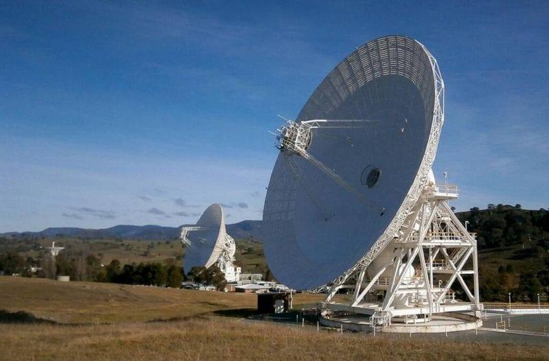 NASA-Deep Space Network Aperture Enhancement Project antennas