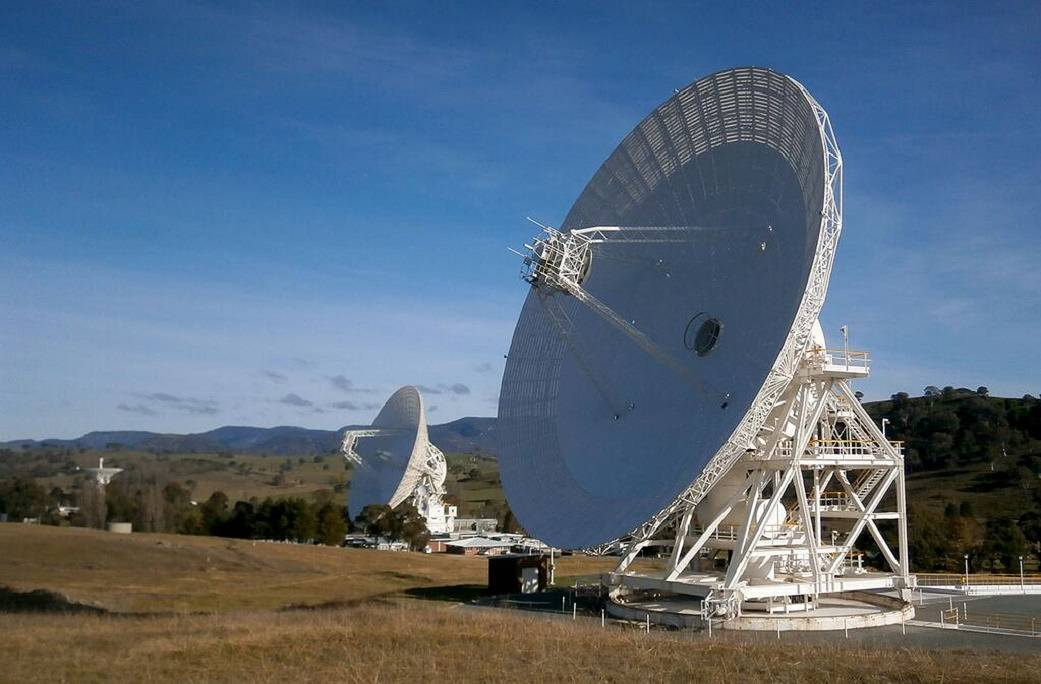 NASA-Deep Space Network Aperture Enhancement Project antennas