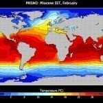 Ocean Temperature reconstruction USGS