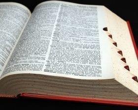 Open dictionary: ID 18742963 © Mlhead | Dreamstime.com