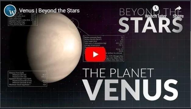 Beyond the Stars: Venus YouTube cover