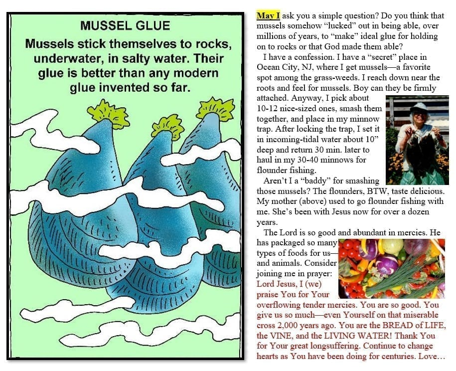 CR Ministries Mussels image see transcript for words