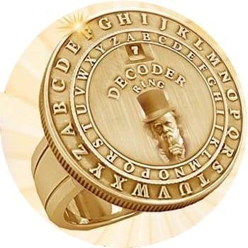 Darwin's Secret Decoder Ring, photo credit: Piltdown Superman