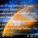 God of our Fathers YouTube cover