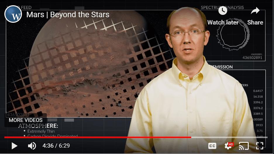 Branyon May talks about Mars YouTube still
