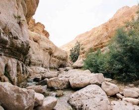 Ein Gedi Canyon Israel: photo credit: Rob Bye
