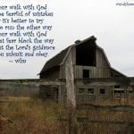 Wendy's poem with an old barn photo