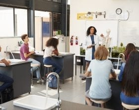 High school classroom: ID 99967216 © Monkey Business Images | Dreamstime.com