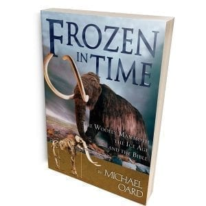 Frozen in Time book cover link to Creation Superstore