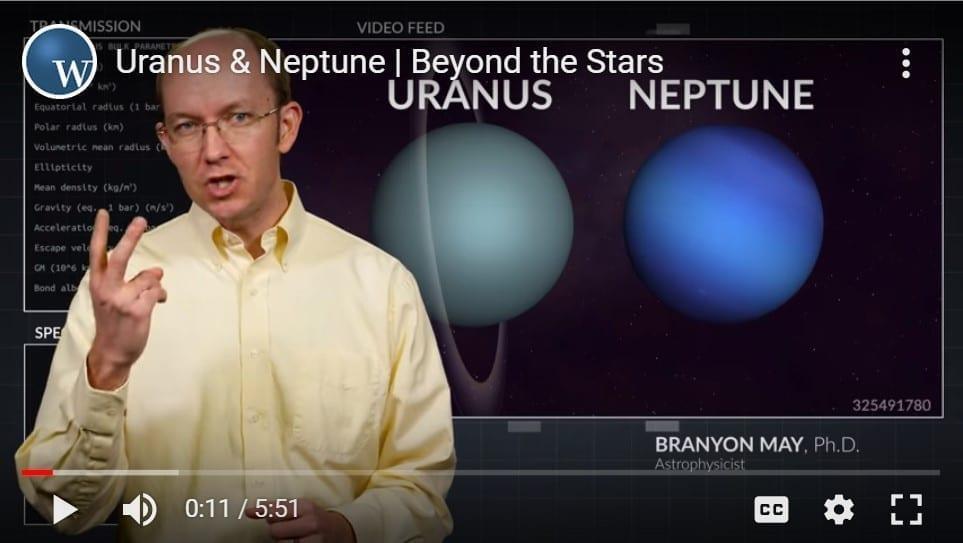 Neptune and Uranus YouTube still