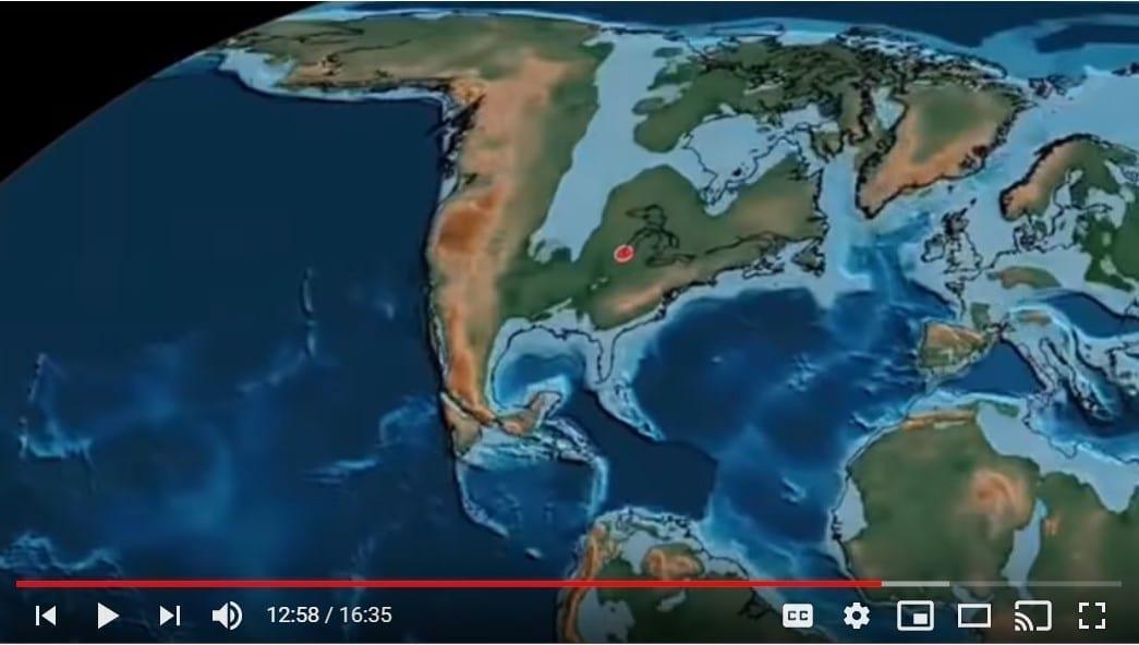 North America Flood YouTube still: Genesis Apologetics