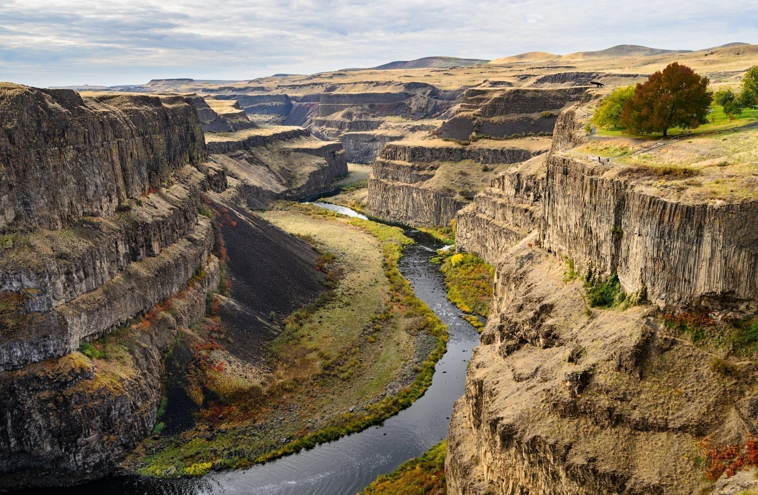 Missoula channeled scablands Palouse Falls State Park: ID 61141897 © Zrfphoto | Dreamstime.com