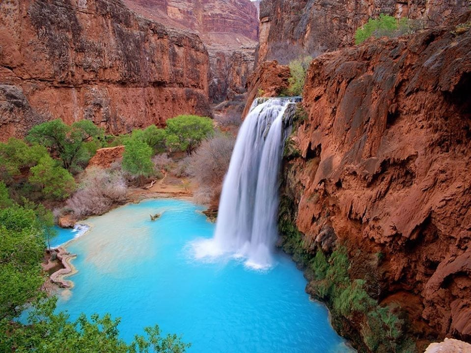 Havasu Falls, photo credit: Nate Loper