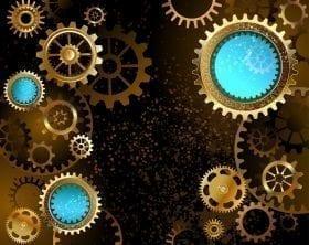 Gears and dots graphic: ID 45330029 © Nelli Valova | Dreamstime.com