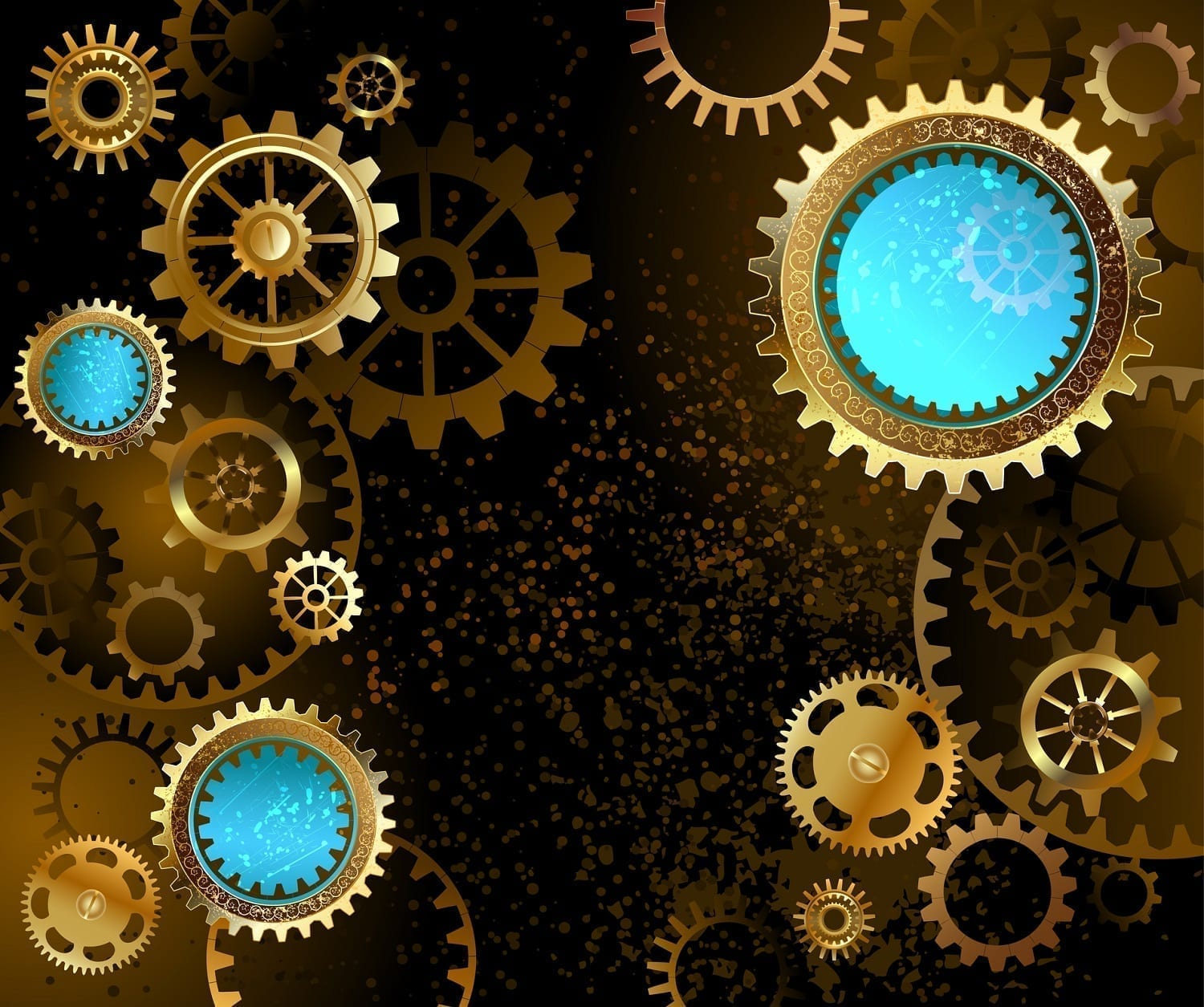 Gears and dots graphic: ID 45330029 © Nelli Valova | Dreamstime.com