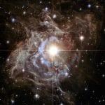 Cepheid star RS Puppis, photo credit: Hubble Telescope