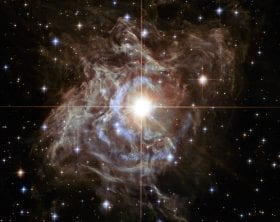Cepheid star RS Puppis, photo credit: Hubble Telescope